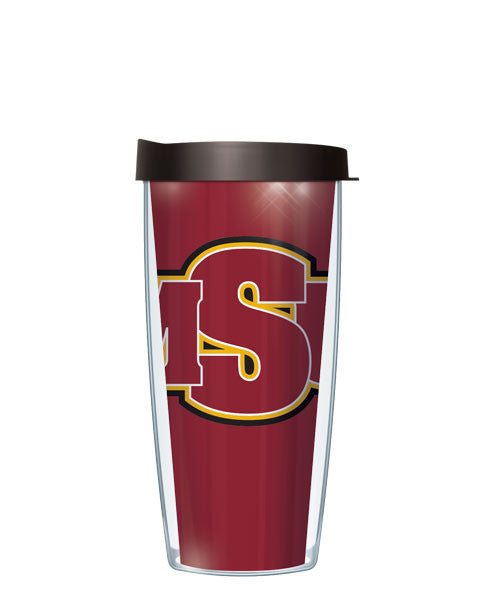 Midwestern State University - Large Logo & Inside Pattern with Black Lid