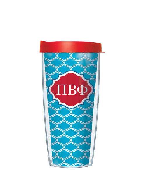 Pi Beta Phi - Duofoil Pattern with Red Lid