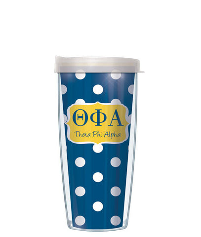 Theta Phi Alpha - Dots with Clear Lid
