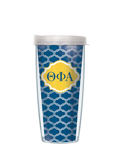 Theta Phi Alpha - Clear Duofoil with Clear Lid