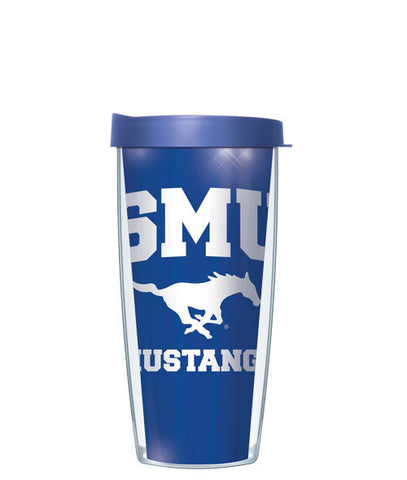 southern-methodist-university-logo-inside-pattern-tumbler