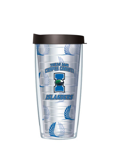 texas-a-_-m-university-corpus-christi-logo-pattern-clear-tumbler