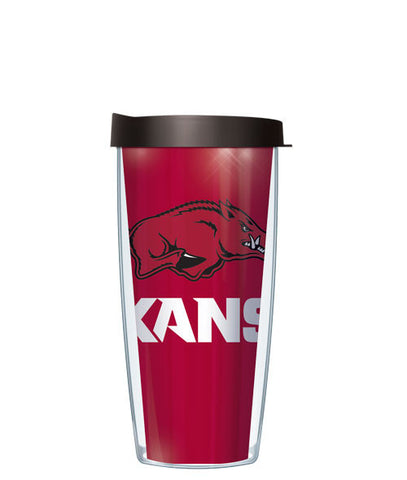 University of Arkansas University - Large Logo & Inside Pattern with Black Lid