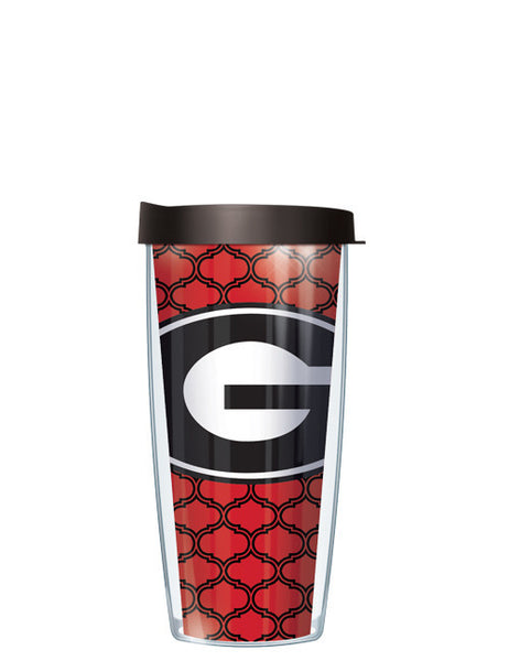 University of Georgia - Duofoil Pattern with Black Lid