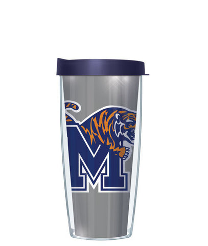 University of Memphis - Large Logo & Inside Pattern with Navy Lid