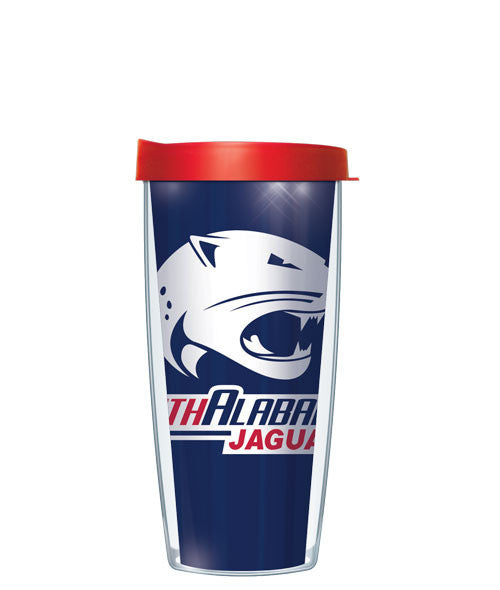 University of South Alabama - Large Logo & Inside Pattern with Red Lid
