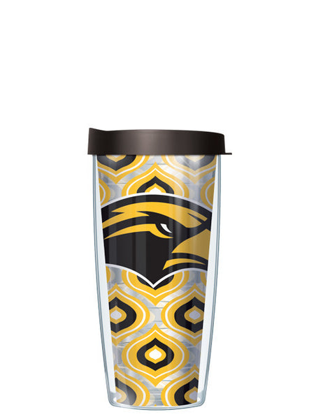 University of Southern Mississippi - Clear Color Drops with Black Lid