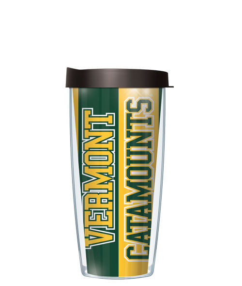 University of Vermont - Vertical Stripes with Black Lid