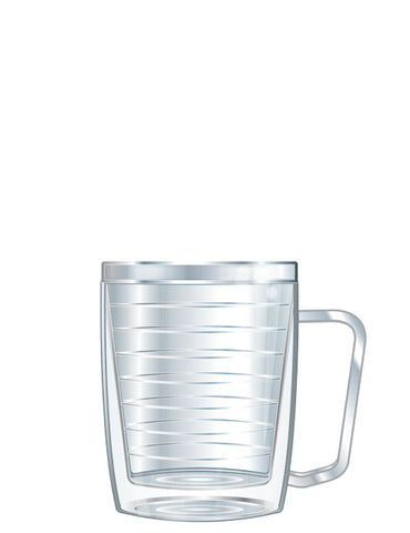 18oz Monday Coffee Clear Tumbler - Signature Tumblers -  -  - 1