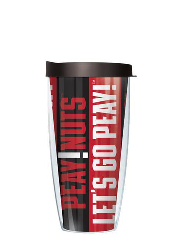 Austin Peay State University - Vertical Stripes Pattern