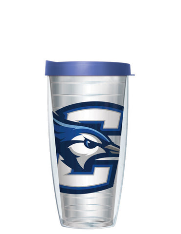 Creighton University - Large Logo on Clear Pattern