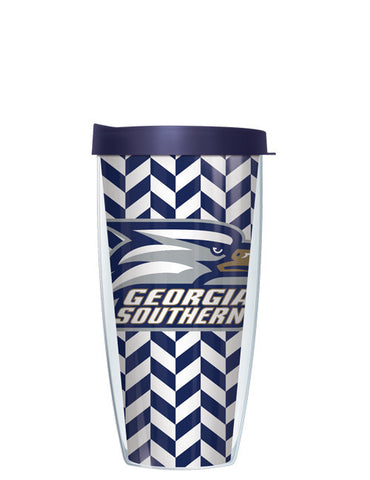 Georgia Southern University - Herringbone Pattern