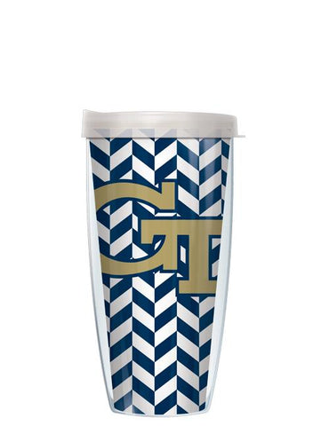 Georgia Tech - Herringbone Pattern