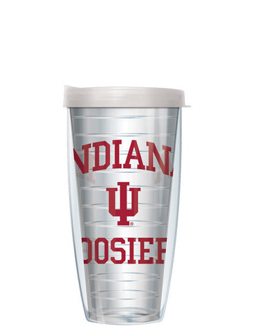 Indiana University - Large Logo on Clear Pattern