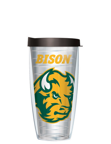 North Dakota State University - Large Logo on Clear Pattern