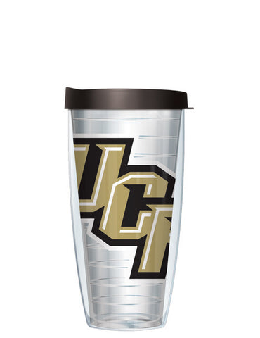 University of Central Florida - Large Logo on Clear Pattern