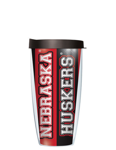 University of Nebraska - Vertical Stripes Pattern