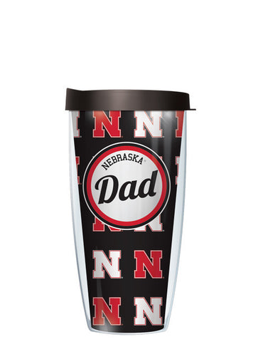 University of Nebraska - Nebraska Dad with Black Lid