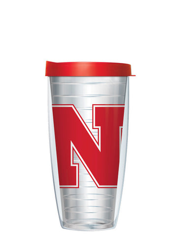 University of Nebraska - Large Logo on Clear Pattern
