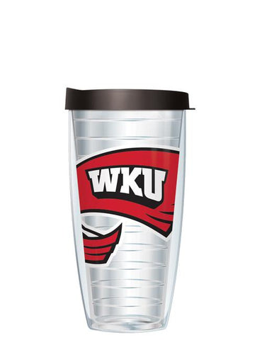 Western Kentucky University - Large Logo on Clear Pattern