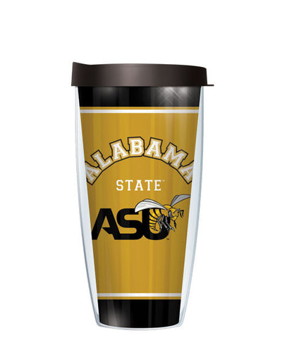 Alabama State University - Varsity Stripes with Black Lid