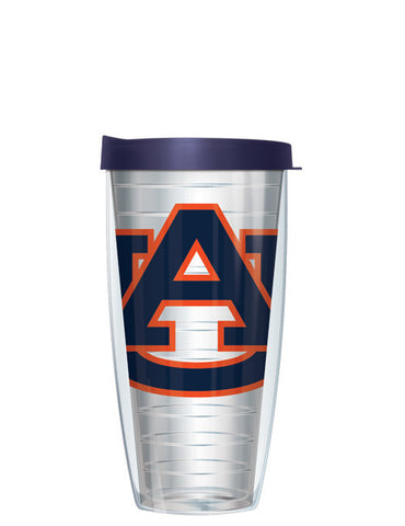 Auburn University - Logo on Clear with Navy Lid