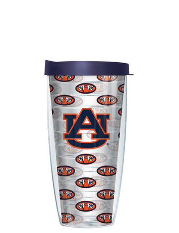Auburn University - Logo Pattern on Clear