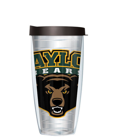 Baylor University - Logo on Clear with Black Lid