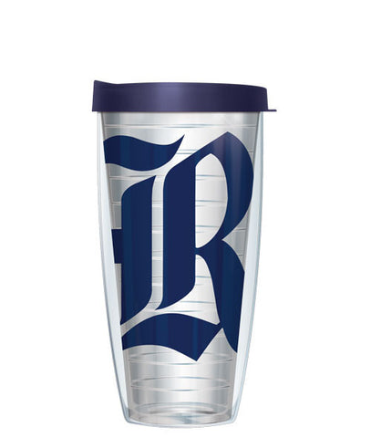 Rice University - Logo on Clear with Navy Lid