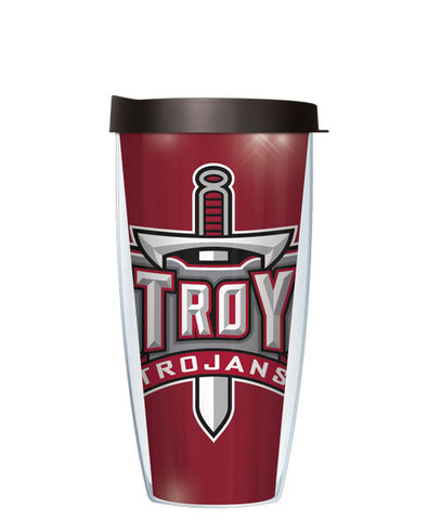Troy University - Large Logo & Inside Pattern with Black Lid