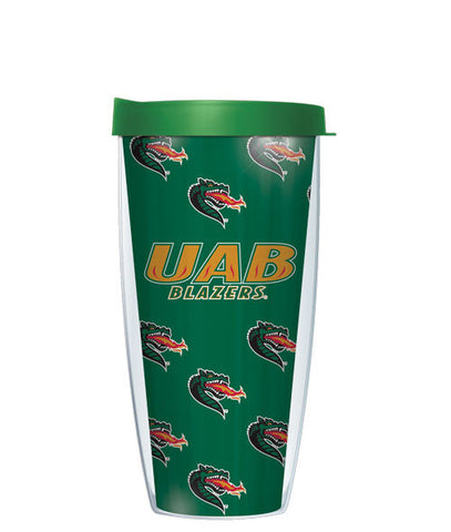 university-of-alabama-birmingham-pattern-tumbler