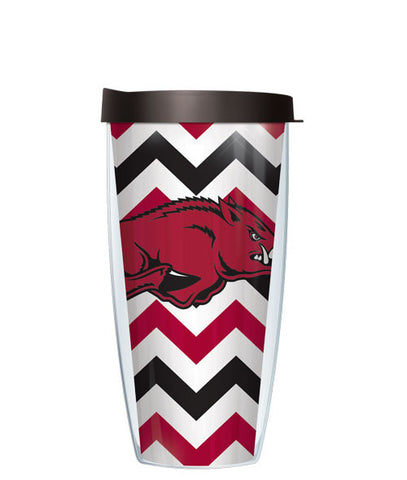 University of Arkansas - Chevron with Black Lid