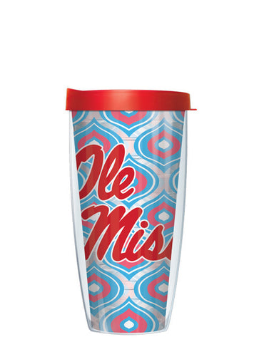 University of Mississippi - Clear Comfort Color Drops with Red Lid