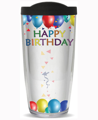 You Sign It Happy Birthday Tumbler