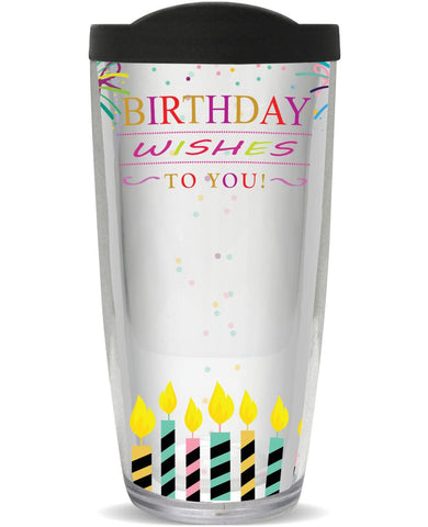 You Sign It Birthday Wishes Tumbler