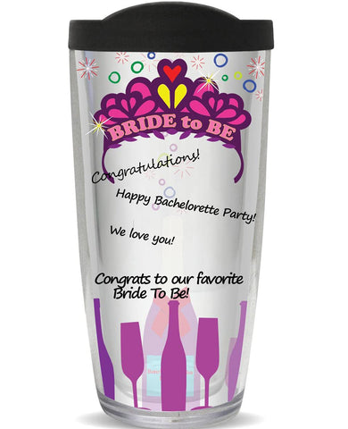 You Sign It Bride to Be Bachelorette Tumbler