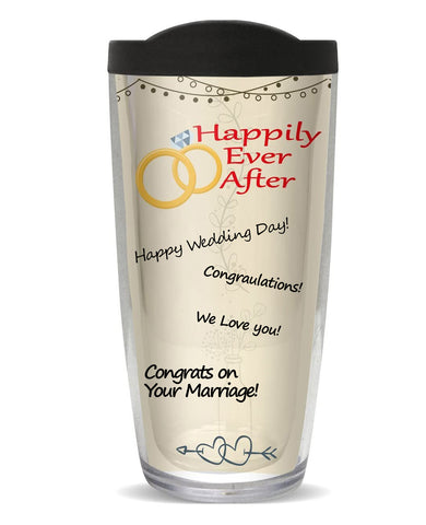 You Sign It Happily Ever After Tumbler
