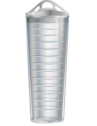 28oz Sports Traveler Clear Tumbler