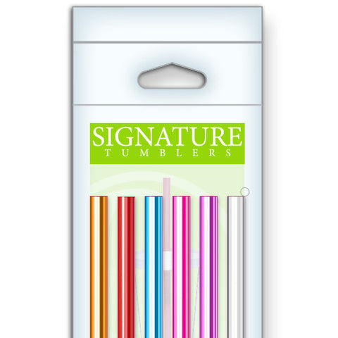 Six Pack of Straws - Signature Tumblers -  -  - 1