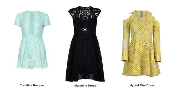 Coloured Lace Dresses | AeternaStyle.com
