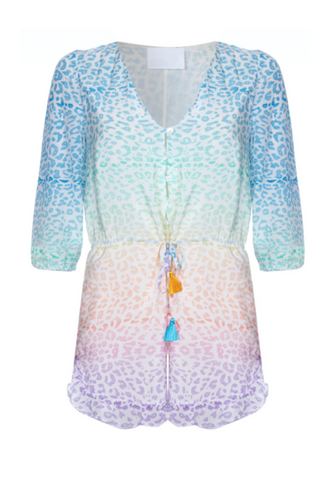 Athena Procopiou | Rainbow in the Sky Playsuit | AETERNASTYLE.COM