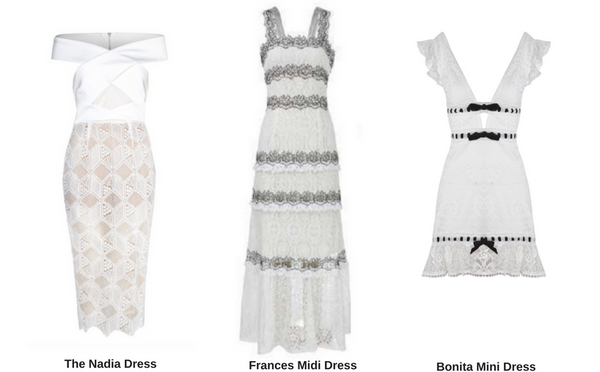 White Lace Dresses | AeternaStyle.com