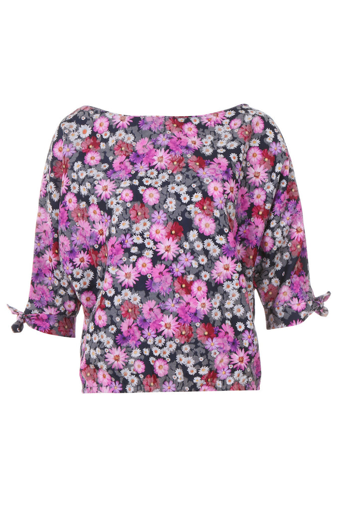 Poppy Floral Top - AETERNA STYLE  - 1