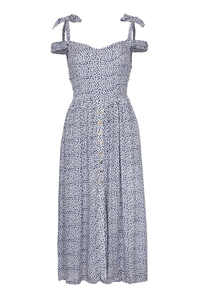 Paddo to Palmy | Le Villette Blue Dress | AeternaStyle.com