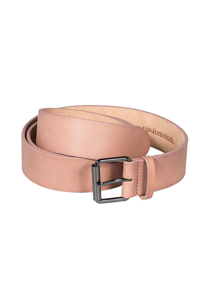 Custommade DK | Jamella Tan Leather Belt | AETERNASTYLE.COM