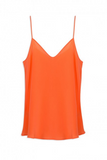 Sack's Fashion | Sila blood orange silk camisole | AETERNASTYLE.COM