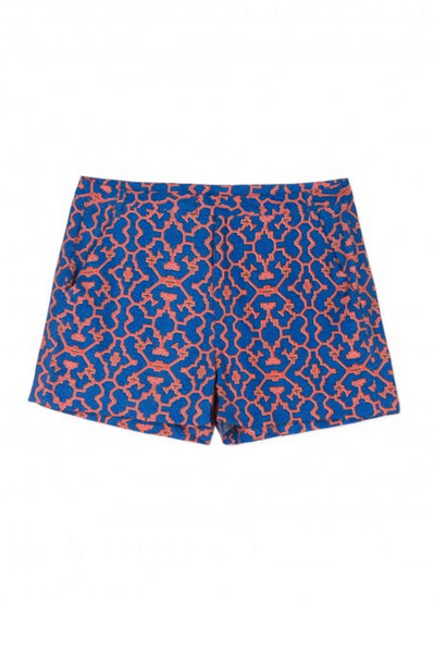 Sack's Fashion | Kai printed shorts | AETERNASTYLE.COM