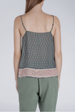 Sack's Fashion | Emerald Louisa printed camisole | AETERNASTYLE.COM