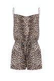 Gat Rimon | Days Leopard Silk Playsuit | AETERNASTYLE.COM