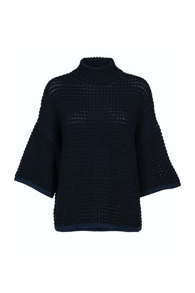 Custommade Dk | Navy Tabia Sweater | AETERNASTYLE.COM